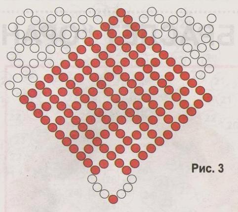 Плетение бисером колье