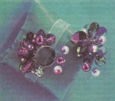 кольцо из бисера фото