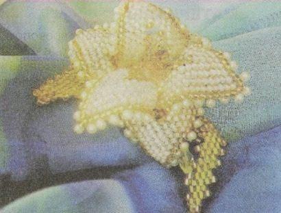 плетение из бисера броши.