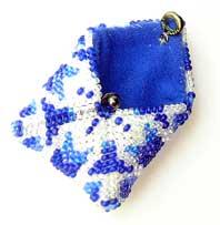 вышиваем бисером кулон