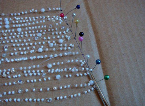 Процесс плетения воздушного колье-5