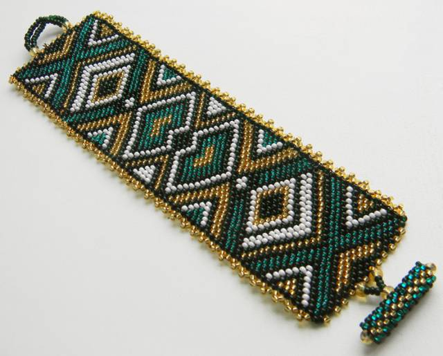 мозаичное плетение из бисера украшения схемы.