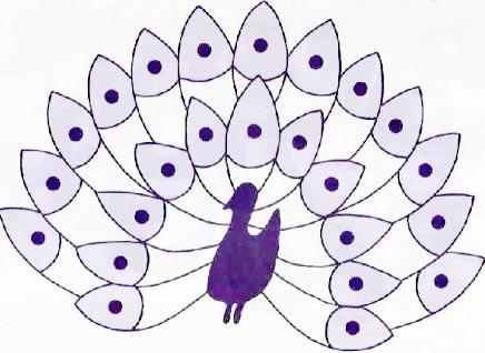 Галерея павлинов.  Вышивка и другое схема павлина - Плетение бисером.