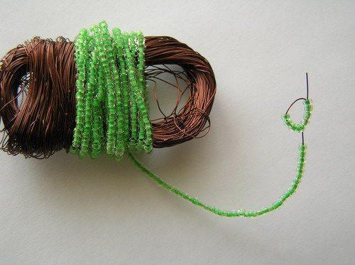 схема плетения кактуса