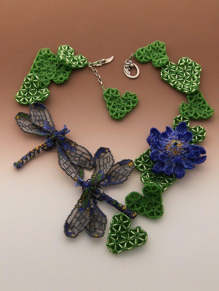 Ожерелье из бисера от Huib Petersen