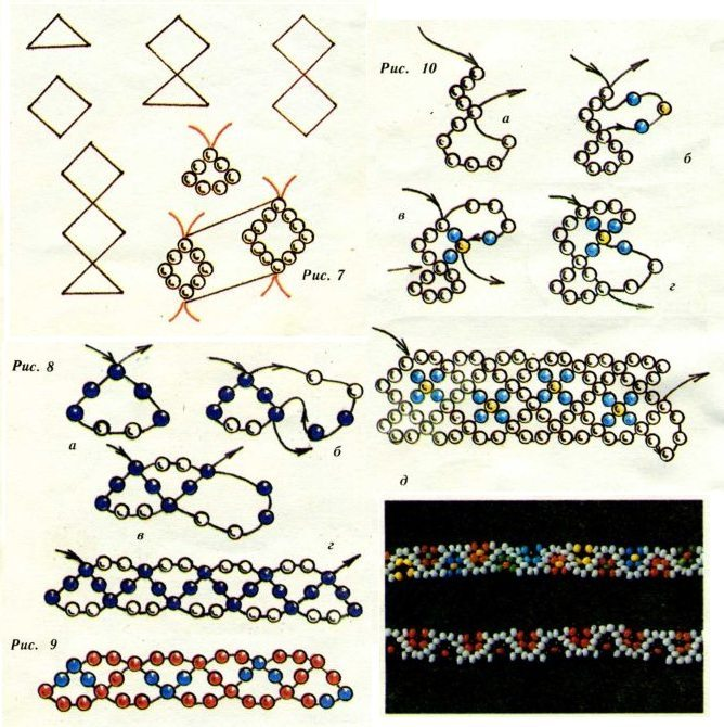 браслеты из бисера схемы плетения на станке - Практическая схемотехника.
