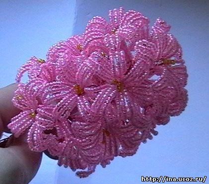 На блоге представлены работы из бисера описана техника плетения и вышивки бисером Конкурс цветочная фантазия 2009...