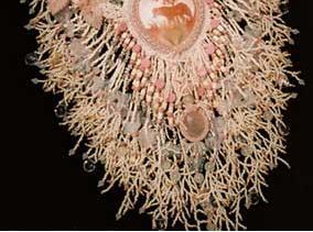 плетем кораллы из бисера - колье