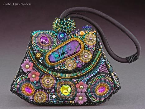 авторская сумочка из бисера