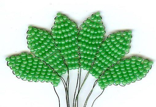 листики герберы своими руками