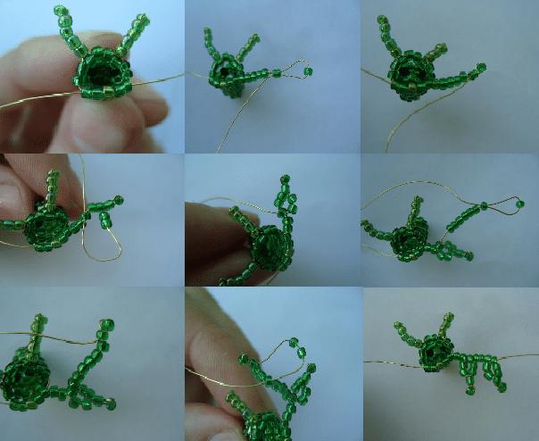 Плетем дракона из бисера своими руками