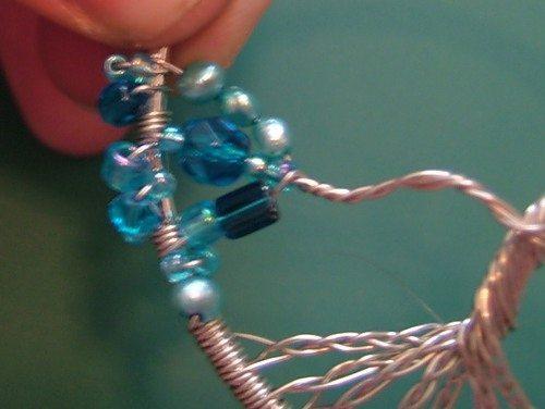 схема плетения амулета