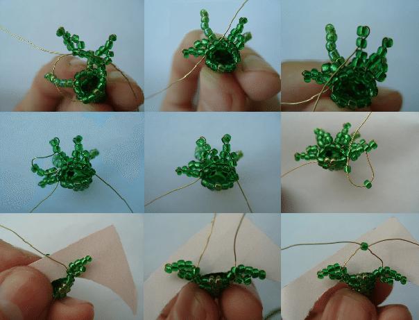 Как сделать дракона из бисера