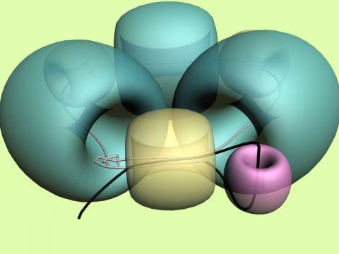 Объёмные бусины из бисера - схемы плетения 1
