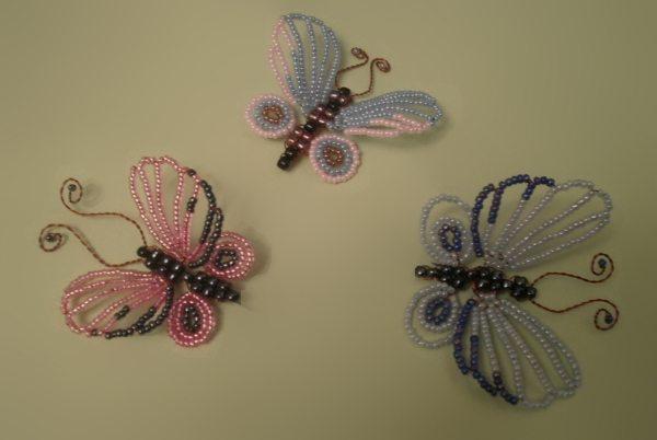 бисерные бабочки