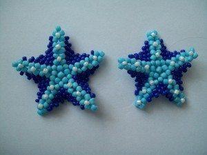 Плетем морскую звезду из бисера-7