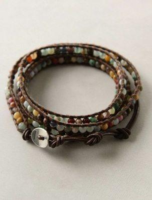 плетеный бисером браслет