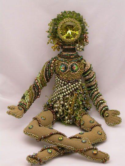 Бисерная кукла от Kandra