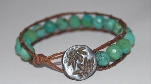 необычный бисерный браслет