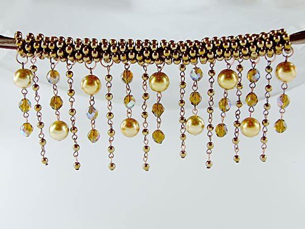самодельное ожерелье