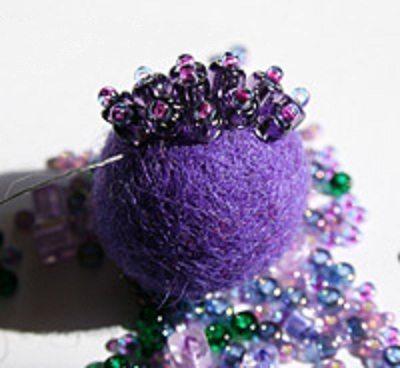 шарики бисерные