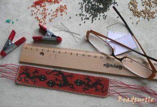Материалы для тканного браслета из бисера