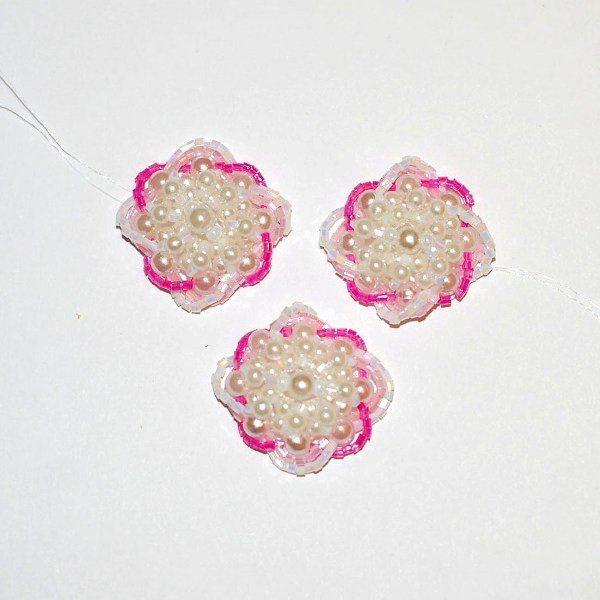 Цветы из бисера для композиции