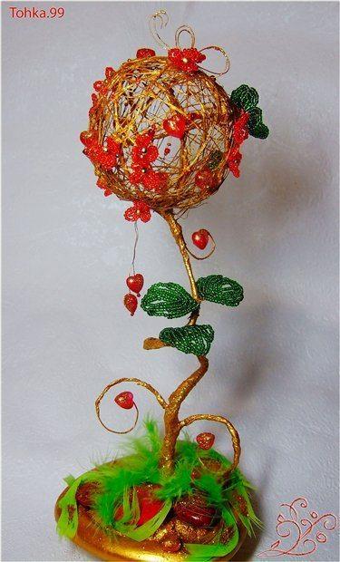 бисерное дерево любви