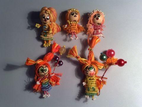 бисерные куклы