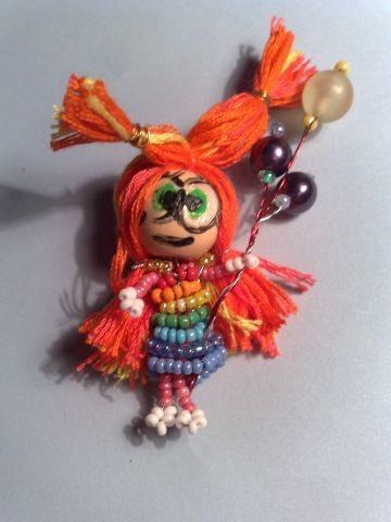 Кукла из бисера