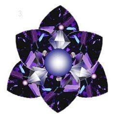 красивое бисерное кольцо