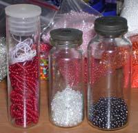 Материалы для декорирования бутылки бисером