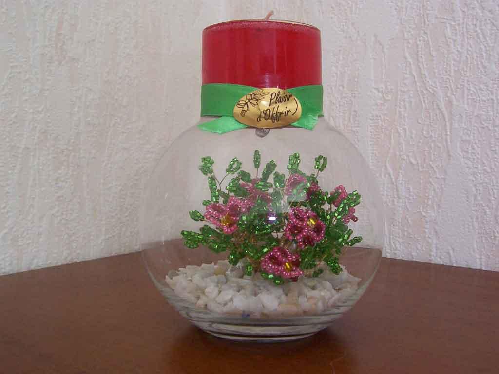 плетение из бисера вазы - Профессиональное бисероплетение.