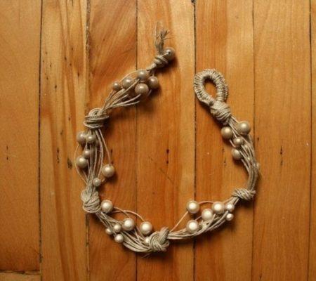 Оригинальное летнее ожерелье