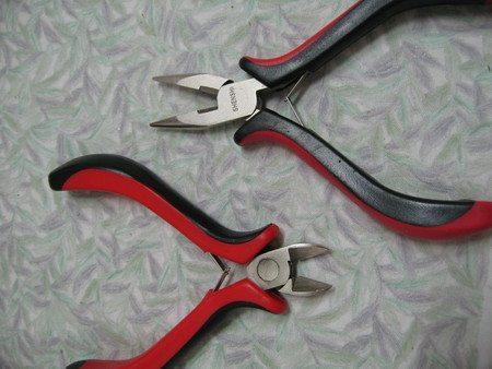 Инструменты для серёжек из бисера