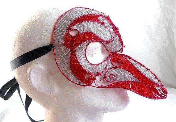 маска из бисера своими руками