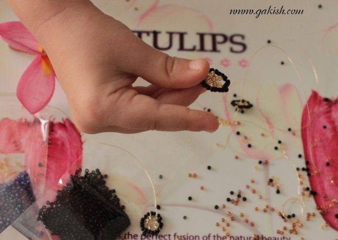 плетем бисерную игрушку