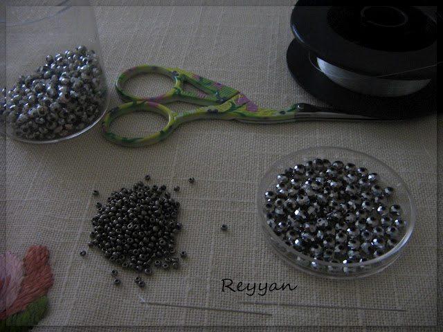 Материалы для комплекта из бисера