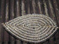 Схема французского плетения бисера фото 960