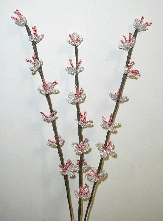 Веточка цветущего персика