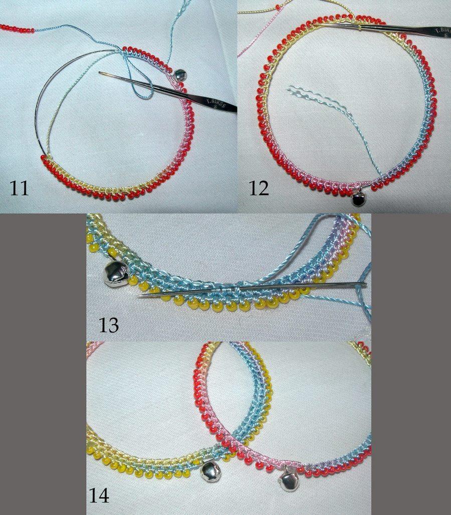 как вязать браслет