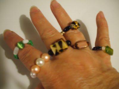 идеи для бисерных колец