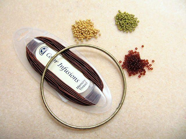 материалы для плетения из бисера браслета
