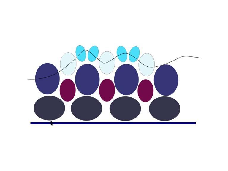 схема плетения овального кулона