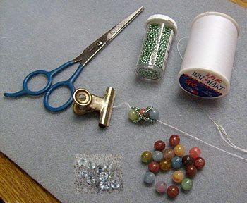 Материалы для браслета из бисера и бусин