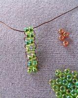плетем простое колечко