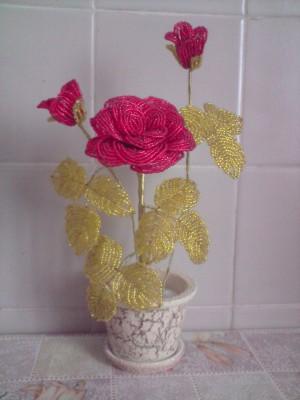галерея бисерных цветов