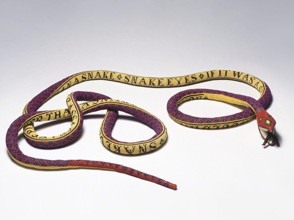 змеи из бисера