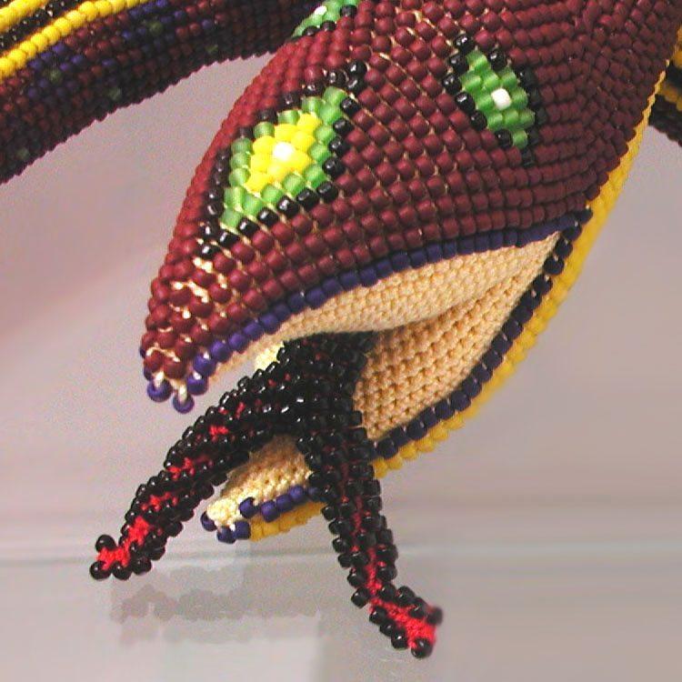 Бисерная змея