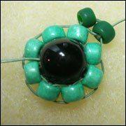 Круговое плетение бисером: мастер-класс